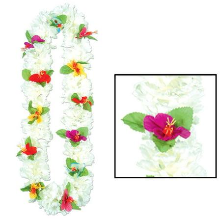 Ddi Silk 'n Petals Carnation Lei (pack Of - Carnation Leis