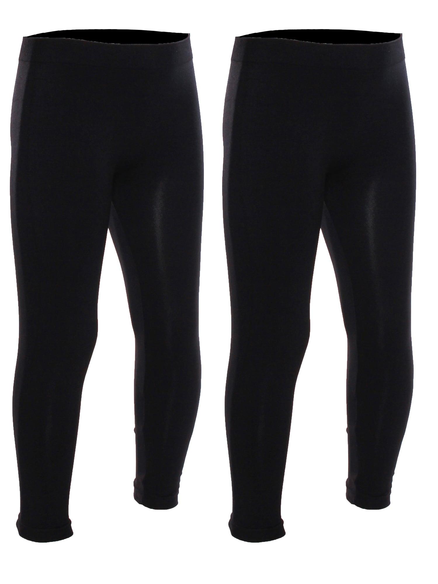 Emmalise Girls Seamless Ankle Length Legging Pants 5-12 years old Regular or Fleece