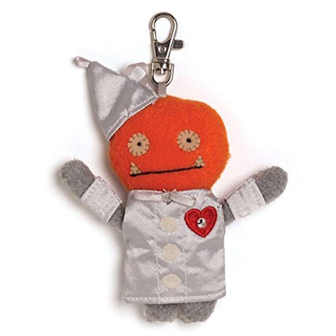 "Ugly Dolls Wizard of Oz 5"" Plush Clip-On: Wage as Tin Man"