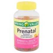 Spring Valley Prenatal Adult Gummies, 90 count