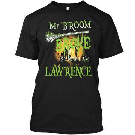 Halloween Name LAWRENCE Hanes Tagless Tee T-Shirt