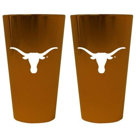 Texas Longhorns Lusterware Pint Glass - Set of 2 - image 1 de 1