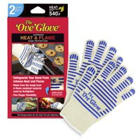 The 'Ove' Glove, Superior Hand Protection from Heat & Flames, As Seen on TV - 2 Pack Authentic Ove Glove