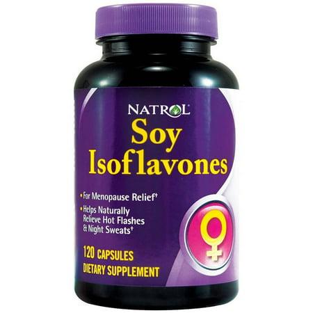 - Natrol Soy Isoflavone 100 mg, 120 CT