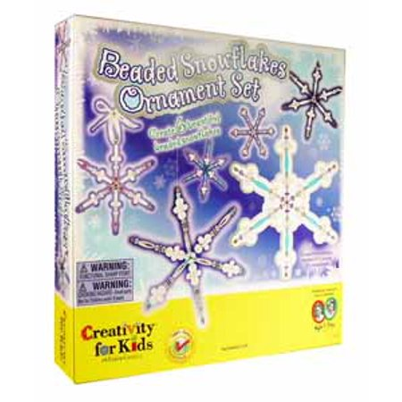 Beaded Snowflake Ornaments - Beaded Snowflakes