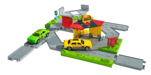 Matchbox City Links Taxi Workday Playset by Mattel