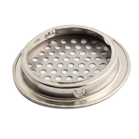 Shoes Cabinet Cupboard 53mm Bottom Dia Air Vent Cover Silver Tone - image 1 of 2
