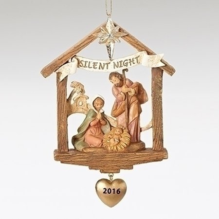Fontanini 2016 Holy Family Stable Event Orn 57012