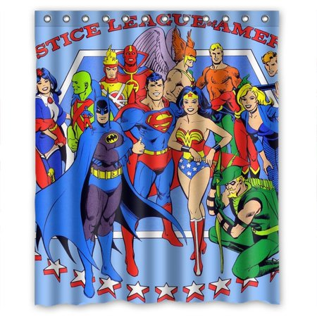 DEYOU The Revenger Super Hero Shower Curtain Polyester Fabric Bathroom Size 60x72 Inches