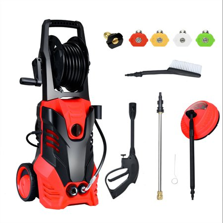 3000PSI Electric High Pressure Washer Machine 2 GPM 2000W w/ Deck Patio Cleaner ()