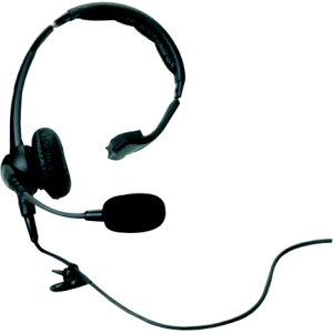Zebra RCH51 Headset - Mono - Wired - Over-the-head - Mona...