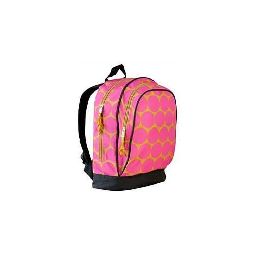 Big Dots Hot Pink Sidekick Backpack by Wildkin - 14118