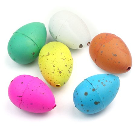 60pcs Cute Magic Growing Dinosaur Egg Add Water Child Gift Hatching Inflatable Toy (Dinosaur Egg Hatching)
