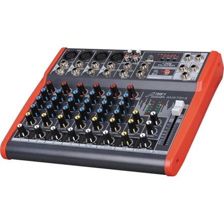 System Integration Audio Processor (AUDIO2000S AMX7313 Professional Eight-Channel Audio Mixer With USB and DSP Processor)