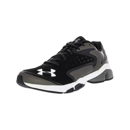 the best attitude 797b9 303c1 Under Armour Men s Yard Trainer Black   Charcoal Ankle-High Training Shoes  - 5.5M ...