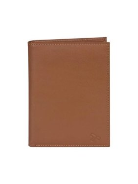 Men's Safe ID Leather Passport & Wallet 9.25 x 4.5 x 0.75