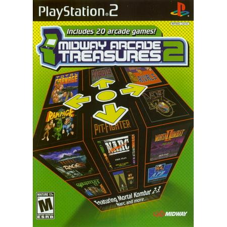 - Midway Arcade Treasures 2 - PS2 (Refurbished)