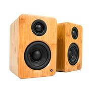 Kanto YU2 Powered Desktop Speakers - Pair (Bamboo)