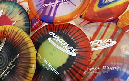 Champion I-dyed Rhyno Putt & Approach Golf Disc (Assorted Colors) (One Disc), Speed: 2... by