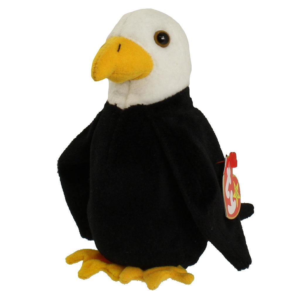 TY Beanie Baby - BALDY the Bald Eagle (6 inch)