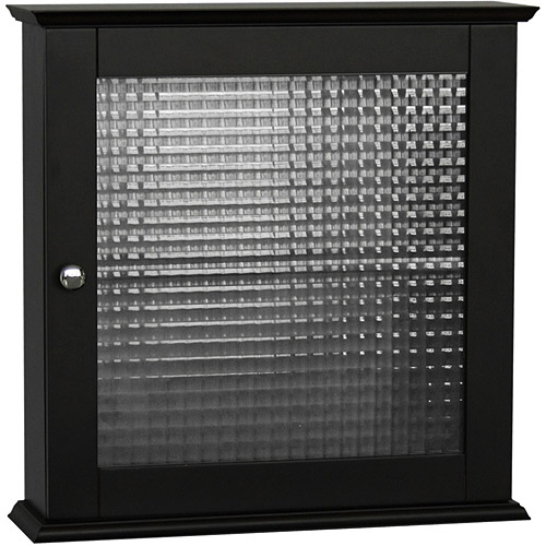 Torino Medicine Cabinet with Glass Door, Espresso by Elite Home Fashions