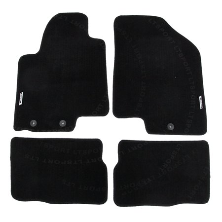 For 09-13 Kia Sorento Custom Fit Premium Nylon Black Floor Mats Carpet For 2009 2011 2012 2013 09 10 11 12 13 KIA SORENT (Kia Sorrento 2011 Accessories)