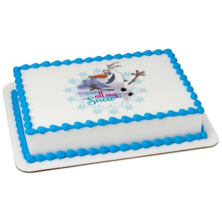 Frozen Cupcake Cake (Frozen Olaf With All My Snow 2