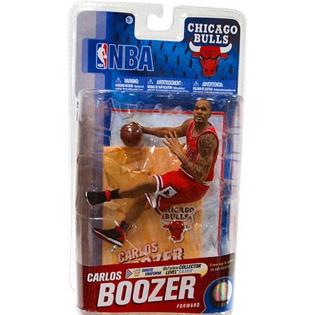 McFarlane NBA Sports Picks Series 19 Carlos Boozer Action Figure [Red Jersey]