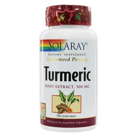 Solaray Guaranteed Potency Turmeric Root Extract 300 mg. - 120 -