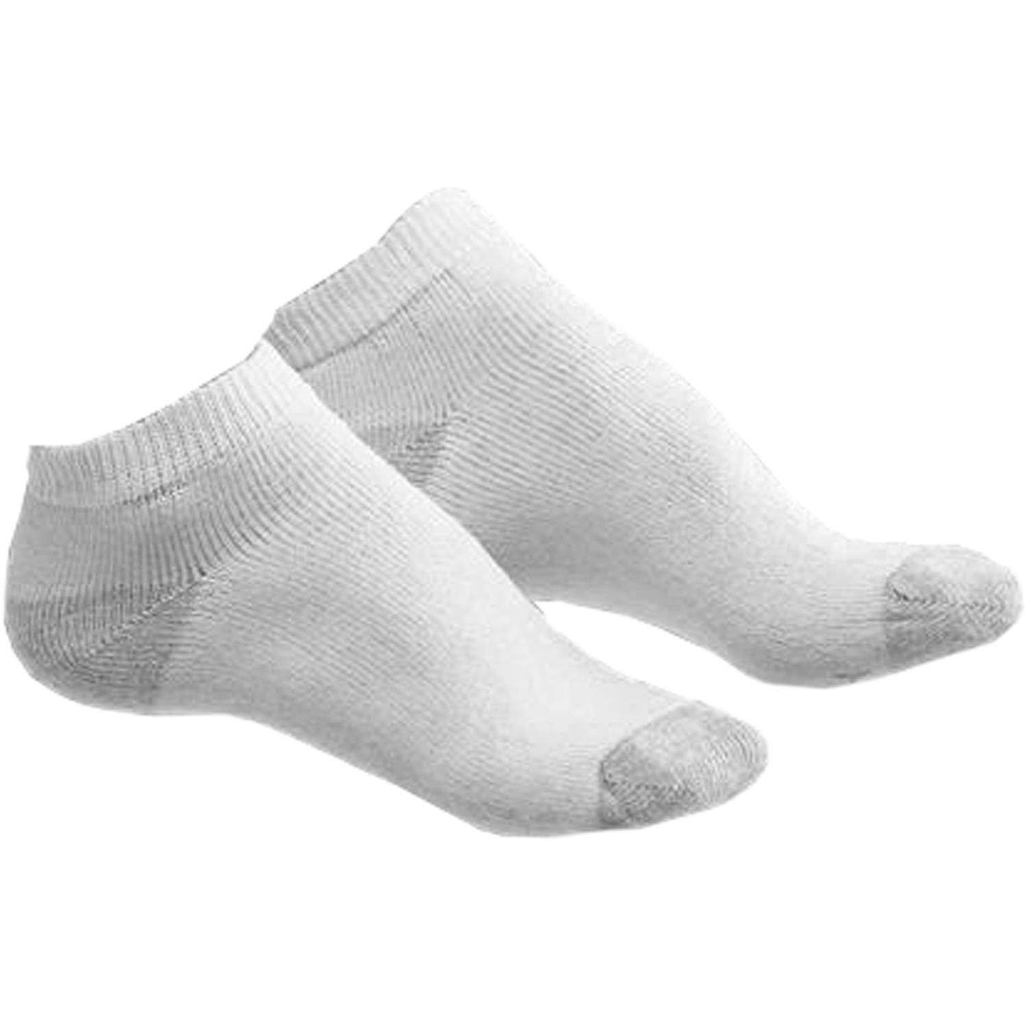 Hanes - Women's Low-Cut Athletic Socks, 6 Pairs
