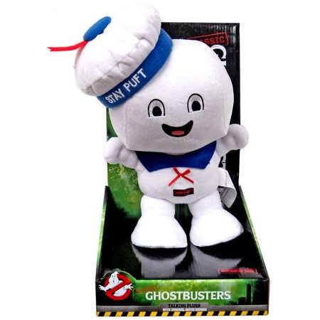Ghostbusters Classic Stay Puft Marshmallow Man Talking Plush (Ghostbusters Stay Puft Marshmallow)