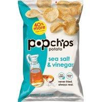 Popchips Sea Salt & Vinegar Potato Chips, 5 oz