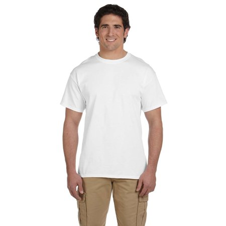 Branded Gildan Adult Ultra Cotton 6 oz T-Shirt - WHITE - 2XL (Instant Saving 5% & more on min