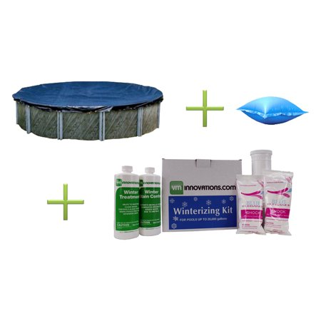 Blue 21 Round Above Ground Pool Cover 4 X 8 Air