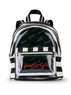 6e848db465 Product Image Kendall + Kylie for Walmart Clear Lucite Mini Backpack