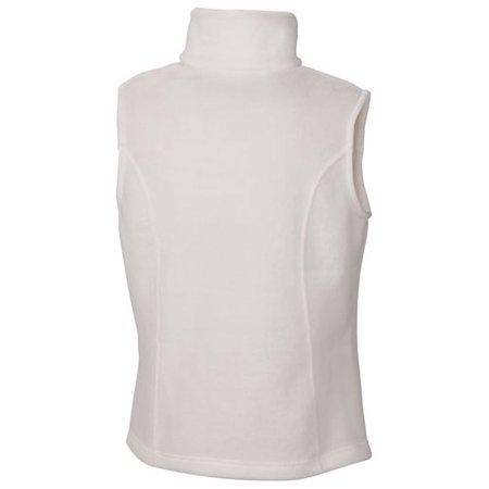 Columbia Women's Benton Springs Fleece Vest (Sea Salt, L) Columbia Ladies Fleece