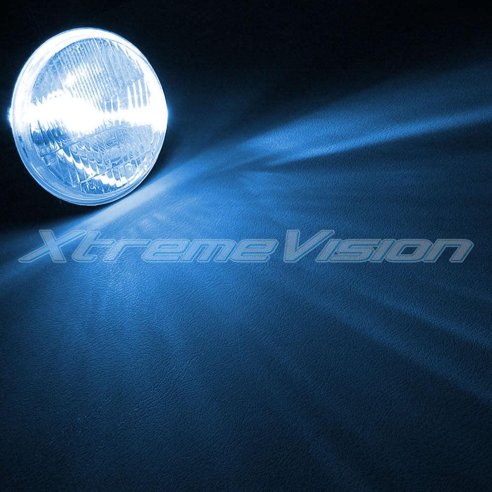 2 Year Warranty XtremeVision 35W Xenon HID Lights with Premium Slim Ballast 10K Dark Blue H10 // 9140 10000K
