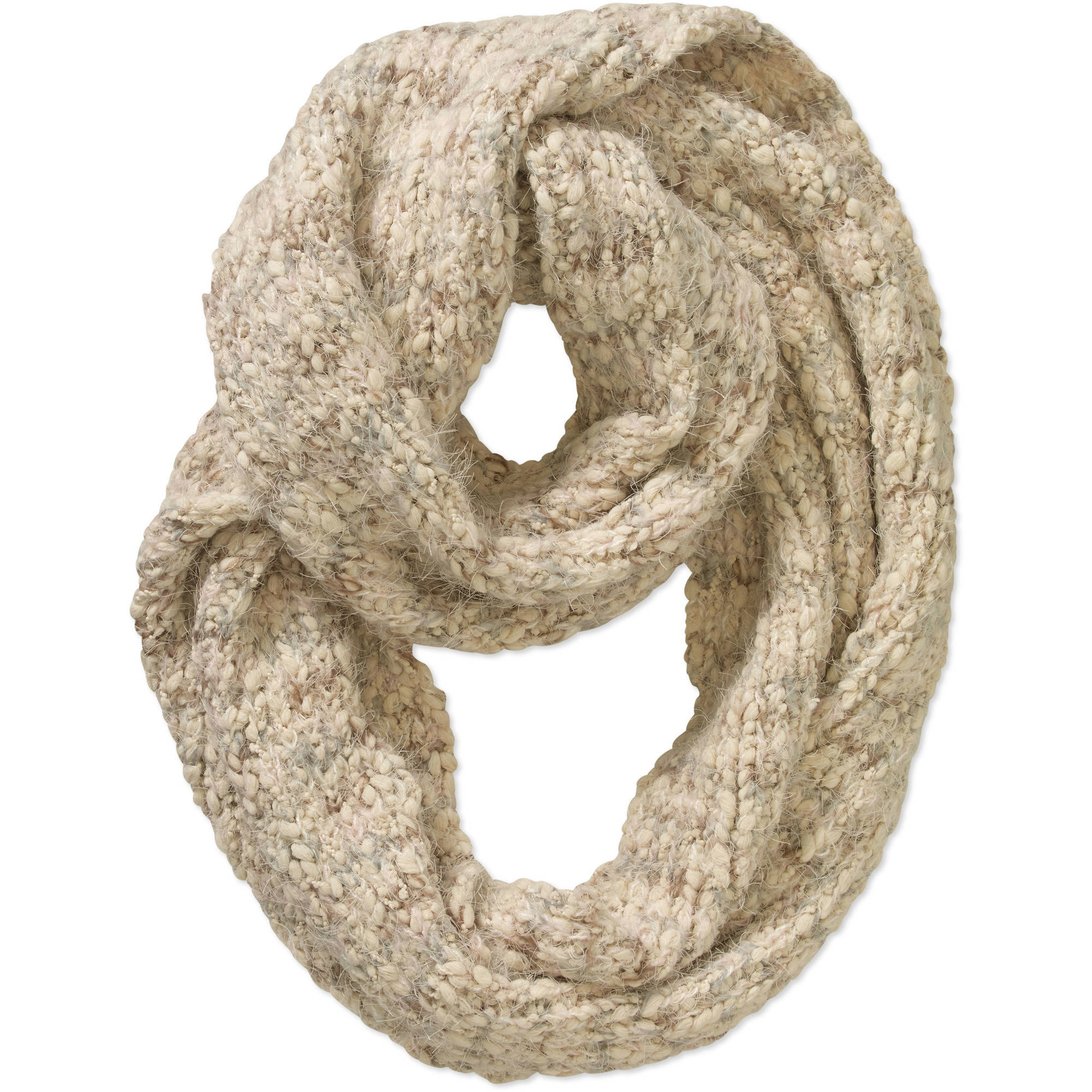 Faded Glory Women's Pastel Cozy Infinity Scarf