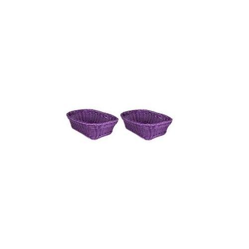 Everware 31404-209 Purple Rectangular Basket Pair