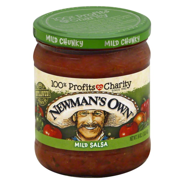 Newman's Own Mild All Natural Chunky Salsa16 oz