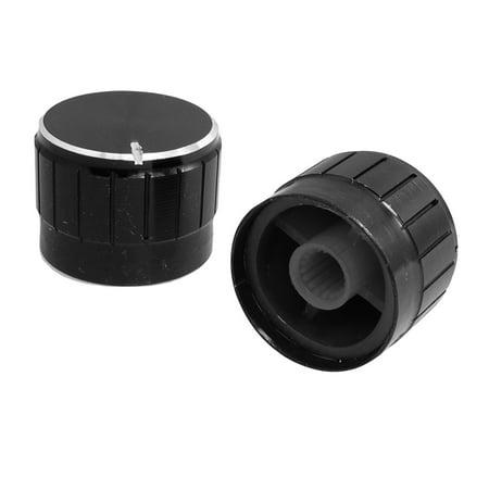 2 pcs 23mm x 17mm capuchon bouton Volume commande potentiomètre - image 1 de 1
