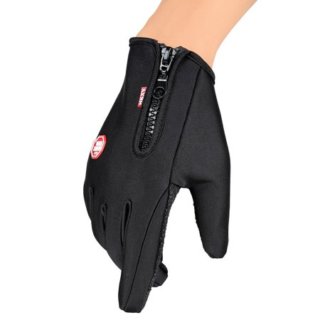 Unisex Ski Gloves Snowboard Gloves Motorcycling Touchscreen Winter Snow Windstopper Outdoor Riding Non-Waterproof Gloves - image 9 of 10