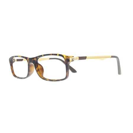 7f1600b03e5 Ebe Reading Glasses Mens Womens Rectangular Tortoise Gold Reading Glasses  Anti Glare grade ckbtr9033 - Walmart.com