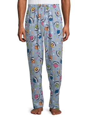 Baby Shark Men's Heather Sea 2 Pajama Pant