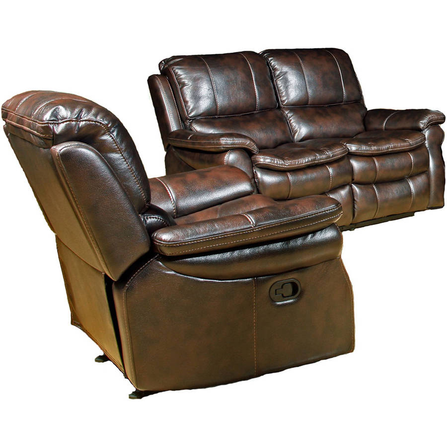 Hanover Napa 2-Piece Set: Reclining Loveseat and Power Recliner