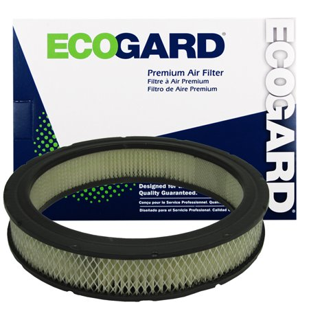 ECOGARD XA90 Premium Engine Air Filter Fits Ford F-150, F-250, F-100, Mustang, F-350, Granada, Pinto, Bronco, Jeep Cherokee, Ford Maverick, Fairmont, Mercury Bobcat, Capri, Comet, Monarch, Zephyr