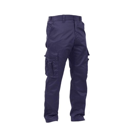 Rothco Deluxe EMT Pants - Navy Blue, 42