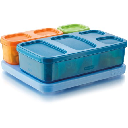 Lonchera Rubbermaid Boys39; Almuerzo Kit, plano + Rubbermaid en Veo y Compro