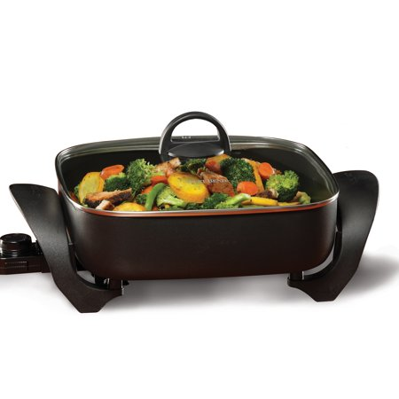 - West Bend 72212 Extra-Deep 12-Inch Square Skillet