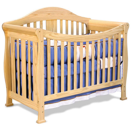 Baby Mod Park 4 In 1 Convertible Crib Natural